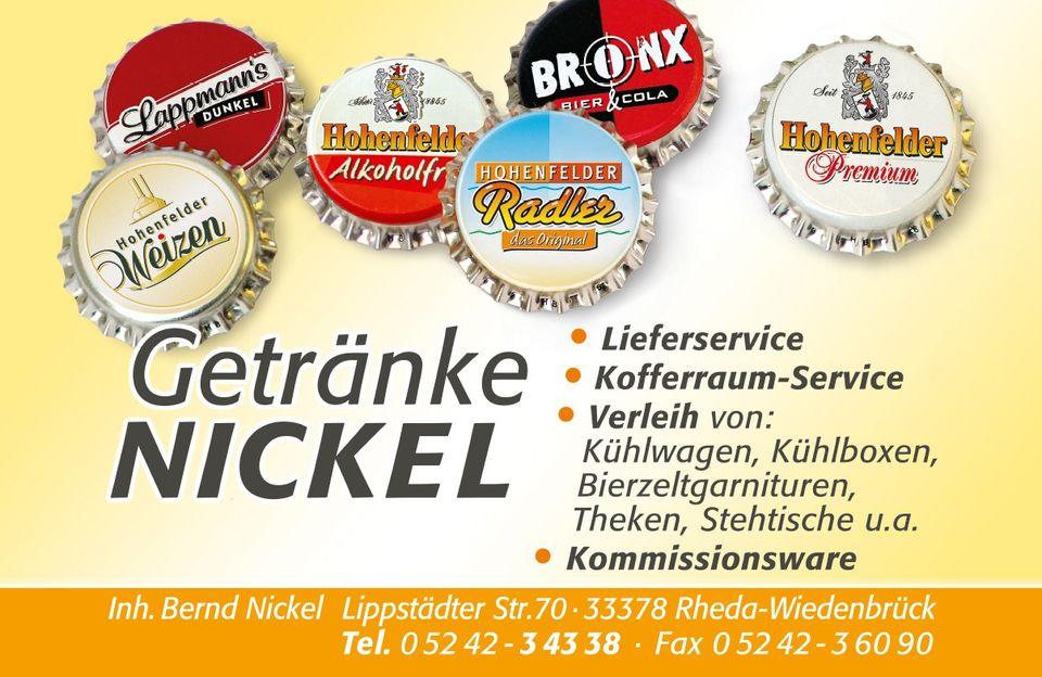 Öffnungszeiten Getränke Nickel Lippstädter Straße 70