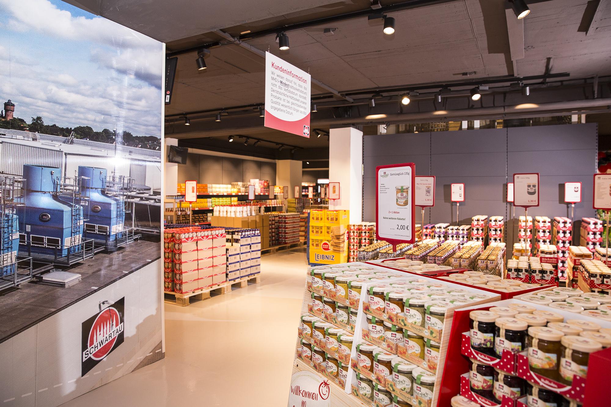 Öffnungszeiten Schwartauer Werke Werksverkauf in Innenstadt