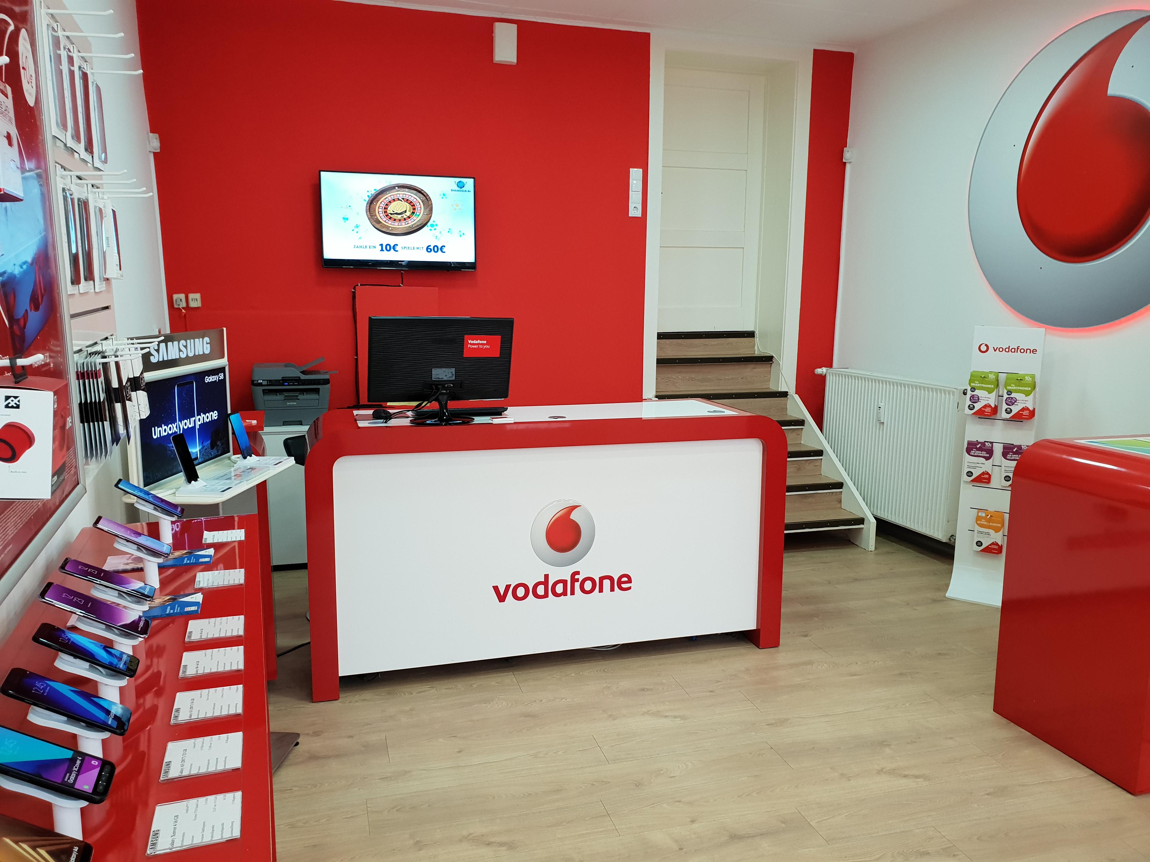 vodafone business fax