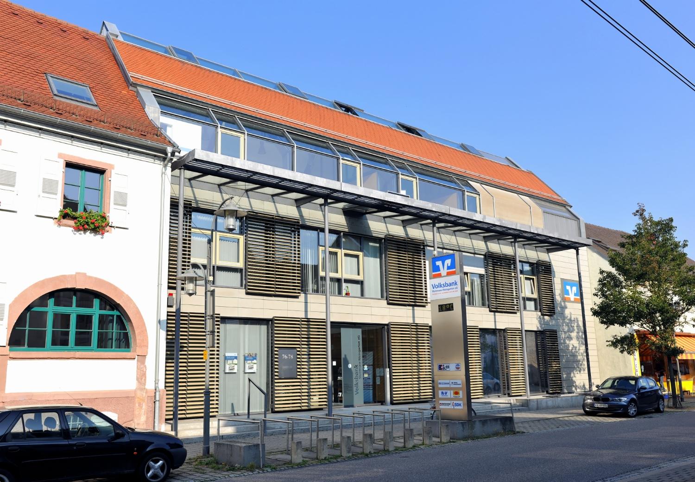 Öffnungszeiten von Volksbank Stutensee-Weingarten eG