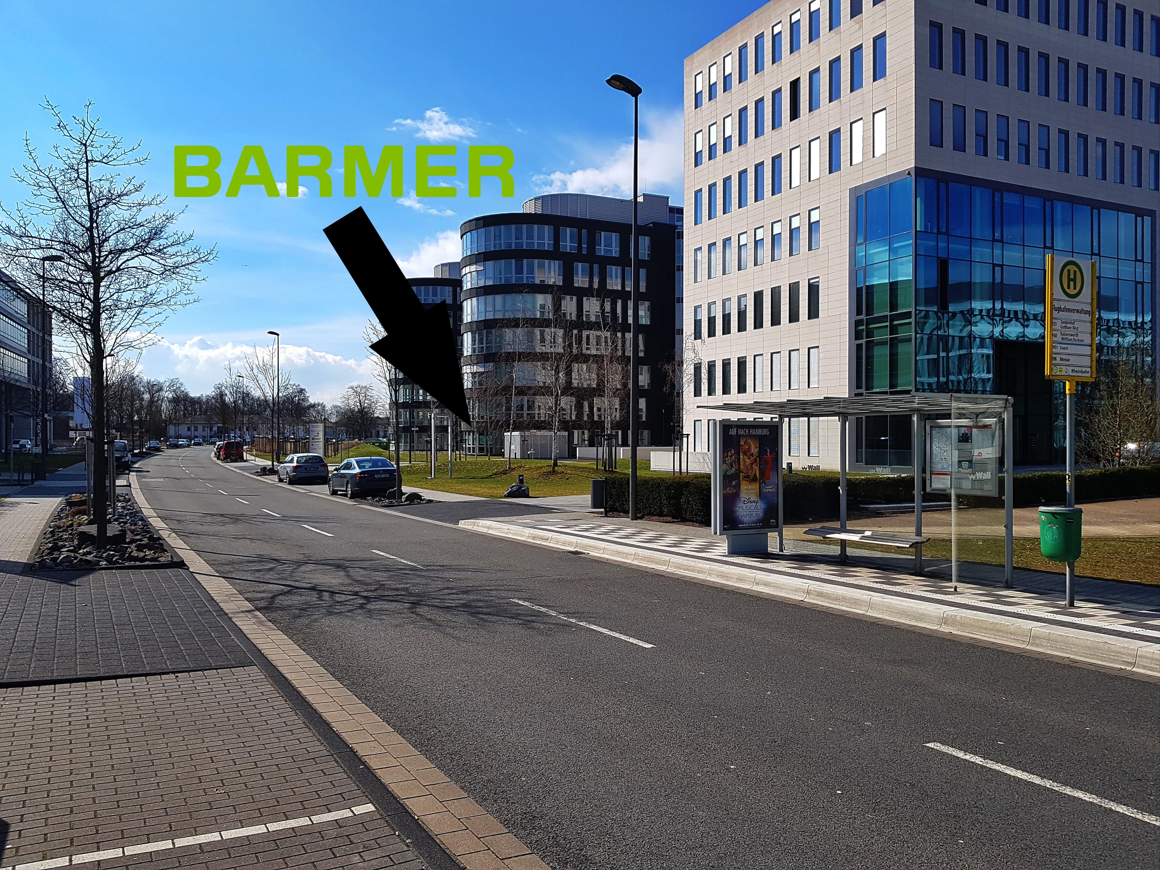 Öffnungszeiten BARMER Düsseldorf Airport City in Düsseldorf